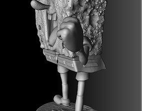 spongebob 3D print model