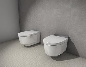 3D asset Geberit AquaClean Mera toilet Vectorworks