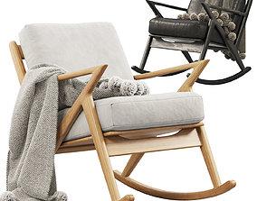 3D Joybird Soto Rocking Chair 3 options
