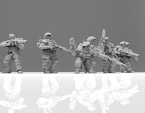 3D printable model Storm Troopettes