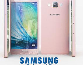 3D model Samsung Galaxy A5 Pink