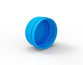 3D print model bottle closure 30-25 neck finish standard