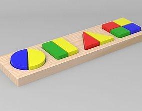 3D model Geometric Shapes Toy