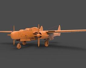 Northrop P-61 3D print model