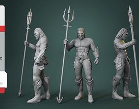 3D print model Aquaman King of Atlantis