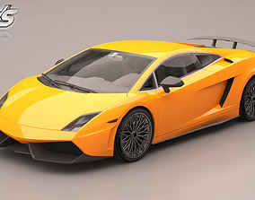Lamborghini Gallardo quality 3D model