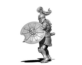 Gladiator 3D print model - 35mm scale