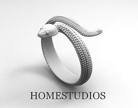 3D print model RING SNAKE 4
