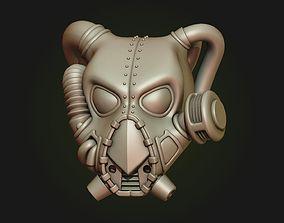 Power Armor Helmet 3D print model