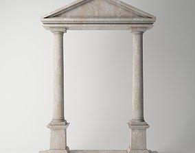 3D model Ancient Temple Doric