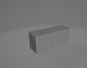 3D printable model 20 Foot Container