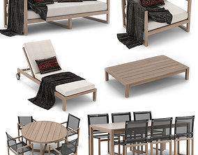 3D model RH Outdoor Aegean collection
