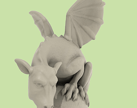 Dragon Statuette A for 3D Printing