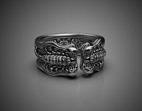 Scorpion Ring 3D printing STL 3D print model US Sizes