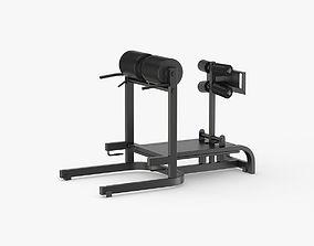 3D model Technogym GHD Bench Pure Line