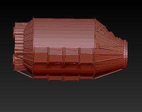 3D printable model Satellite Hermes