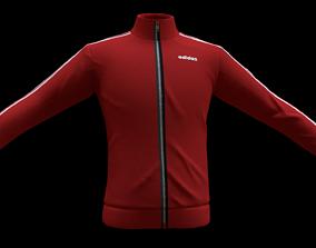 adidas jacket 3D model realtime