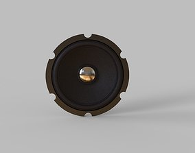 3D model speaker inside