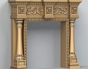 3D Fireplace 002