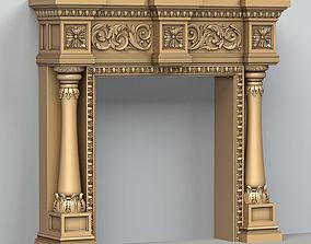 Fireplace 002 3D