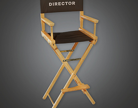 Production Chair 02 - PBR Game Ready 3D asset
