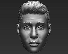 Justin Bieber standard version only mesh 3D model