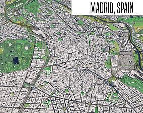 Madrid Spain 3D