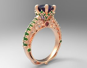 Ring 3D print model 13