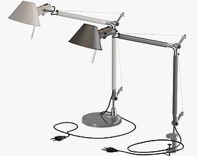 3D Artemide Tolomeo Lamps