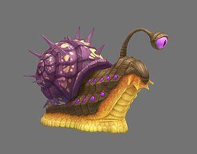 transmutation snails 3D asset