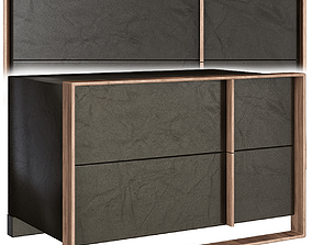 Ayaan 5 Drawer Chest 3D model