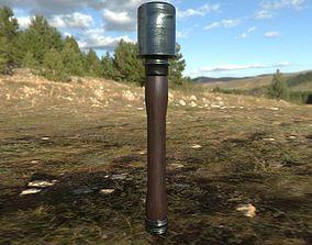 German ww2 Grenade Stielgranate 3D asset