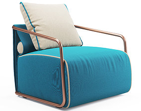 Adex Lounge Armchair 3D model