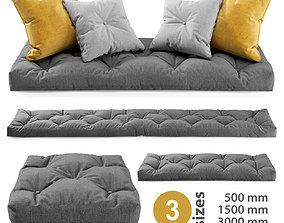 Seat Pillows Set 3 3D