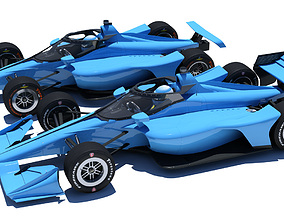 Indycar 2020 - Road and Oval versions 3D model