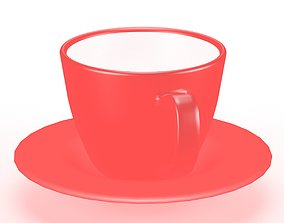 Coffee Cup 3D model low-poly household
