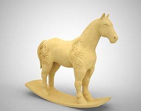3D print model Wooden Horse