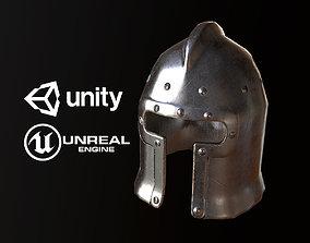 3D model Medieval Steel Helmet - PBR Game Ready
