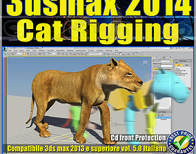 3ds max 2014 Cat Rigging v 5 Italiano cd animated