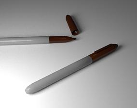 Brown Marker 3D model