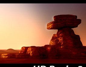 3D model HD Rocks 2