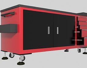 bench 3D Workshop Trolley 1