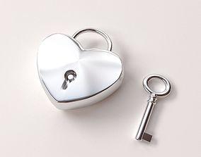 3D Heart Lock