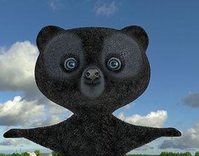 Bears Cartoon 3D model BRAVE Disney animated