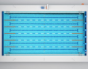 block 3D Swimming Pool
