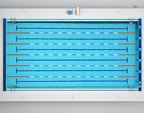block 3D Swimming Pool