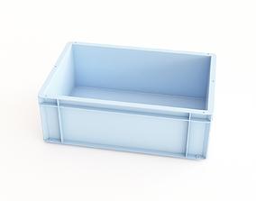 Plastic crate 37 3D model