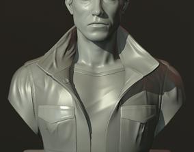 Arnold Schwarzenegger T-800 bust 3D printable model