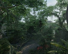Tropical Jungle Pack UE4 3D asset animated
