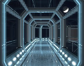 3D model realtime Modular Corridor V2